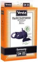 Бумажные пылесборники Vesta Filter SM 05 для пылесосов