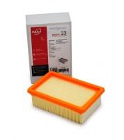 Фильтр складчатый плоский ZS 023 из целлюлозы повышенной фильтрации (бумага) для пылесосов KARCHER WD 4, WD 5, WD 6 тип 2.863-005