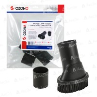 Мебельная насадка для пылесоса Ozone UN-113 круглая с жестким ворсом