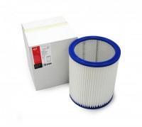 Фильтр цилиндрический ZS 027 из полиэстера (синтетика) для пылесосов MAKITA 449