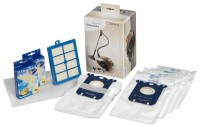 Набор для пылесоса Electrolux USK3 включающий 8 пылесборников e201 + Hepa фильтр EFH13W + 1 моторный фильтр + 2 освижителя