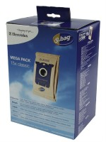 Бумажные пылесборники Electrolux E200M для пылесосов ELECTROLUX, PHILIPS, Тип S-bag (15 штук, e200x3)