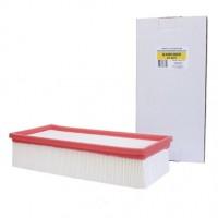 Фильтр складчатый целлюлозный для пылесоса EURO Clean EUR KHPM-NT65/2 (бумага) тип 6.904-283