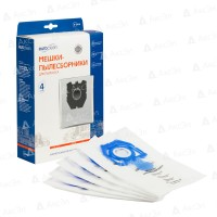 Синтетические пылесборники EURO Clean E-54 для Zelmer тип 49.4100 (ZVCA200B) (4шт)