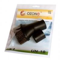 Мебельная насадка для пылесоса Ozone UN-10 с мягким ворсом, круглая, поворотная