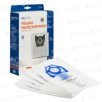 Синтетические пылесборники EURO Clean E-53 для Zelmer тип 49.4000 (ZVCA100B) (4шт)