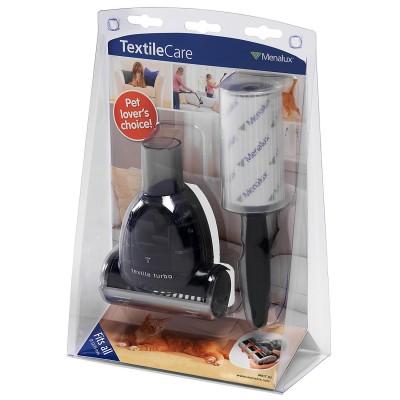 Набор для уборки шерсти Menalux MKIT02 включающий турбощетку, роллер для одежды с липкой лентой и переходник