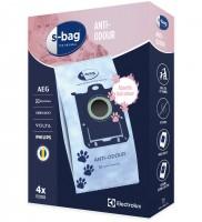 Синтетические пылесборники Electrolux E203S с пластиковым фланцем и поглощением запаха для пылесосов ELECTROLUX, PHILIPS, Тип S-bag