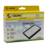 Фильтр HEPA Ozone H-39 microne для пылесосов SAMSUNG: SC51..., SC53...,SC54... тип DJ97-00788A
