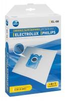 Синтетические пылесборники Neolux EL-08 для пылесосов ELECTROLUX, PHILIPS тип S-bag