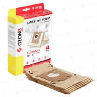 Бумажные мешки Ozone P-02 для пылесосов ELECTROLUX, PHILIPS тип S-Bag