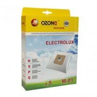 Синтетические мешки-пылесборники Ozone M-01 microne для пылесосов ELECTROLUX Тип ES51