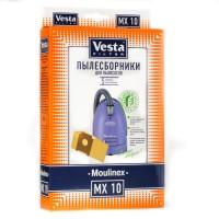 Бумажные пылесборники Vesta Filter MX 10 для пылесосов Moulinex