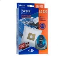 Синтетические пылесборники Vesta Filter LG 02S для пылесосов LG