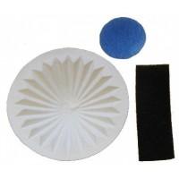Комплект фильтров Komforter HVX-01 тип 1-9-125407-00 конусный, моторый, выхлопной