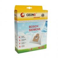 Синтетические мешки-пылесборники Ozone M-06 microne для пылесосов BOSCH, SIEMENS Тип BBZ41FP