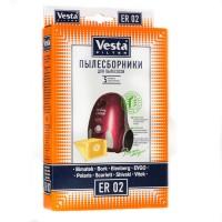 Бумажные пылесборники Vesta Filter ER 02 для пылесосов