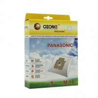 Синтетические мешки-пылесборники Ozone M-14 microne для пылесосов PANASONIC