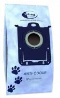 Синтетические пылесборники Electrolux E203P с пластиковым фланцем и поглощением запаха для пылесосов ELECTROLUX, PHILIPS, Тип S-bag
