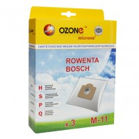 Синтетические мешки-пылесборники Ozone M-11 microne