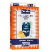 Бумажные пылесборники Vesta Filter RW 06 для пылесосов ROWENTA Spacio RS 600...699