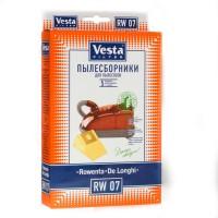 Бумажные пылесборники Vesta Filter RW 07 для пылесосов Rowenta, Hoover, DeLonghi