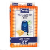 Бумажные пылесборники Vesta Filter AG 03 для пылесосов AEG