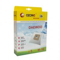 Синтетические мешки-пылесборники Ozone M-16 microne для пылесосов