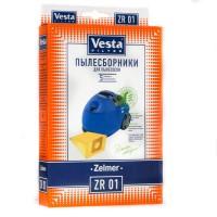 Бумажные пылесборники Vesta Filter ZR 01 для пылесосов ZELMER тип 49.4100 (ZVCA200B)