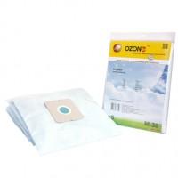 Синтетические мешки-пылесборники Ozone M-38 microne для пылесосов ZELMER тип ZVCA200B (49.4100)