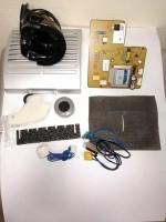 Ремкомплект для пылесосов Samsung  серии SC65... крышка HEPA фильтра + плата (DJ41-00452) + гнездо шланга + детали