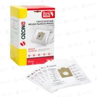 Синтетические мешки-пылесборники Ozone XXL-05 для пылесосов BOSCH, SIEMENS тип BBZ41FG (12 шт)