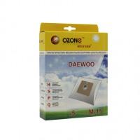 Синтетические мешки-пылесборники Ozone M-15 microne для пылесосов DAEWOO