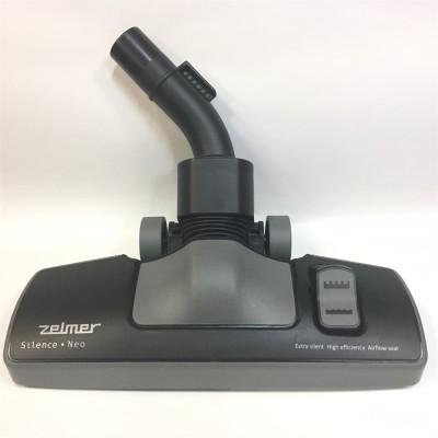 Насадка универсальная пол-ковер Zelmer 00771179 VCA81 Silence Neo, цвет черный Оригинальная щетка для уборки твердых поверхностей и ковров. Предназначена для моющих пылесосов марки Bosch и для любых моделей пылесосв марки Zelmer.