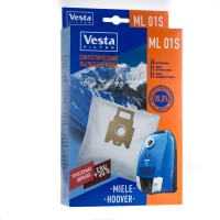 Синтетические пылесборники Vesta Filter ML 01S для пылесосов Miele тип FJM, GN