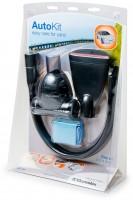 Набор для автомобиля Electrolux KIT09 включающий малую турбощетку, салфетку из микроволокна, плоскую и гибкую щелевую насадки