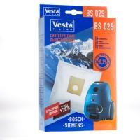 Синтетические пылесборники Vesta Filter BS 02S для пылесосов BOSCH, SIEMENS тип BBZ41FG