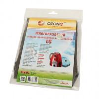 Многоразовый мешок Ozone MX-07 для пылесосов LG