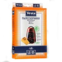 Бумажные пылесборники Vesta Filter LG 05 для пылесосов LG
