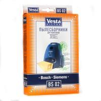Бумажные пылесборники Vesta Filter BS 02 для пылесосов BOSCH, SIEMENS тип BBZ41FG