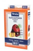 Бумажные пылесборники Vesta Filter GR 01 для пылесосов BORK, GORENJE, ZANUSSI и др