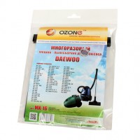 Многоразовый мешок Ozone MX-16 microne multiplex для пылесосов