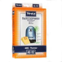 Бумажные пылесборники Vesta Filter AG 02 для пылесосов AEG тип GR28