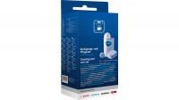 Комплект чистящих средств для кофемашин BOSCH 00311965 включающий специальную щетку прочистки патрубков, таблетки для чистки от эфирных масел (10шт), таблетки для удаления накипи (3шт) и 1 фильтр для воды BRITA Intenza