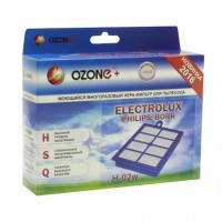 Моющийся фильтр HEPA Ozone H-02W для пылесосов PHILIPS, BORK, ELECTROLUX тип EFH12W, EFH13W