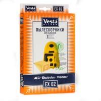 Бумажные пылесборники Vesta Filter EX 02 для пылесосов ELECTROLUX тип ES51