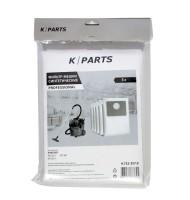 Фильтр-мешки синтетические K/Parts 9.732-357 для пылесосов KARCHER NT 35/1, NT 361, NT 25/1 тип 6.904-351