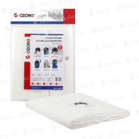 Синтетические мешки-пылесборники Ozone MXT-3111/5 с пластиковым упрочненным фланцем для пылесосов MAKITA 449 (5шт)