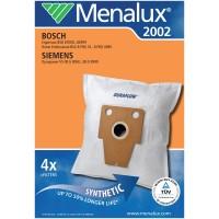 Синтетические пылесборники Menalux 2002 для пылесосов BOSCH, SIEMENS, Тип BBZ41FP