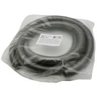 Шланг Ozone SHB-3 для профессиональных пылесосов, длина 3 метра, цвет серый, без байонетного соединения